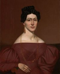 Artist Unknown Portrait of Eliza C. Ayres about 1840