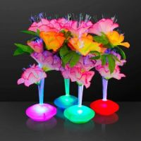 Fiber Optic Flowers & Vases