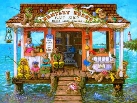 Bentley Bears Bait Shop