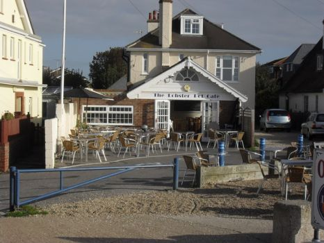 The Lobster Pot Cafe, Felpham, West Sussex.  Photo by andrew auger