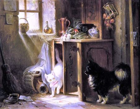 Ertappt/Caught in the Act (1870)