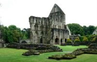 Ruins of Wenlock Priory, Shropshire