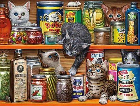 Vintage Cats & Tins (733)