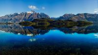 1  ~  'Serene Mountain Lake'