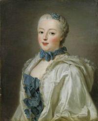 Alexander Roslin  Portrait of Françoise-Marguerite de Sévigné 1753