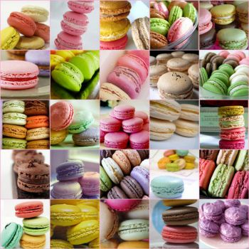 Macarons by Shabby Chic on flickr