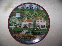 CHarles Wysocki Collector Plate