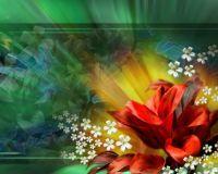 3-D Flower