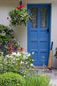 Cornflower Blue Front Door