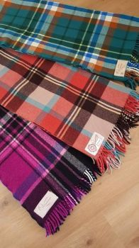 Onkaparinga wool travel blankets