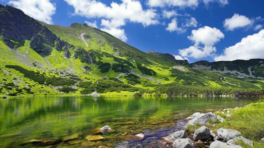 Gasienicowa Valley in Tatra National Park, Poland