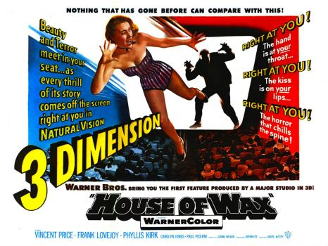 HOUSE OF WAX - POSTER, 1953
