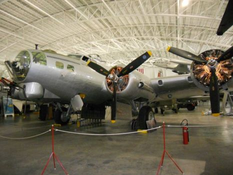 B-17, Strategic Air Command Museum, Omaha, Nebraska