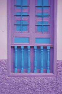 Blue & Purple Doorway
