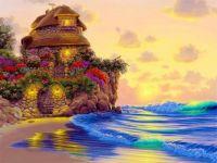 Cottage on a Warm Beach