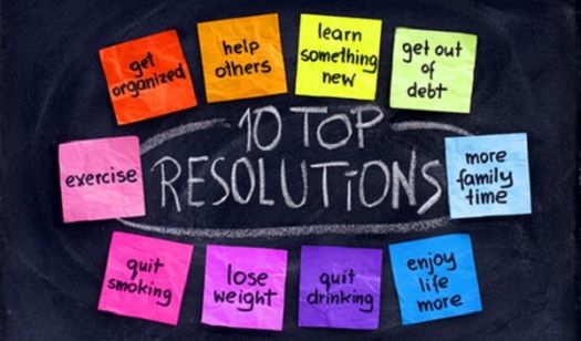 New Year's Resolutions - 1