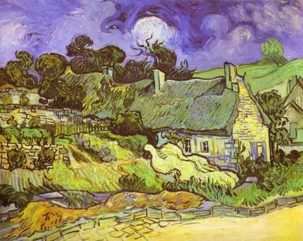 cottage by Van Gogh