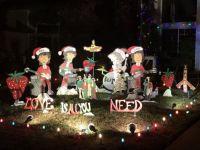 Beatles Christmas Display