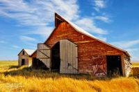 Red Barn in Wyoming...