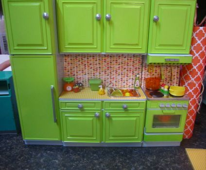 Barbie Kitchen Makeover