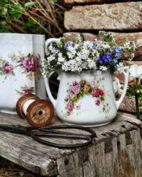 antique plants decoration