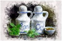 Cruets of Oil and Vinegar