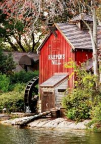 Harpers Mill in Frontierland at Magic Kingdom Park, Orlando, FL