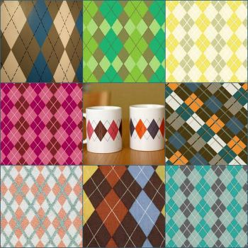 Argyle Patterns - large