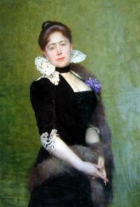 Portrait of a Lady 1890