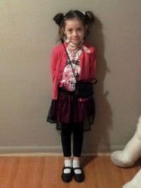 Eily ready for church