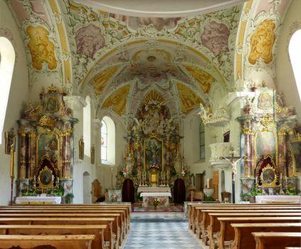 Kirche in Obernberg am Brenner