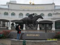 Lee at Churchill Downs