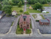 Church in the Middle of the Street