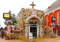 The Grotto in Dickeyville Wisconsin