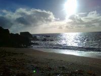 Blackpool sands Christmas day