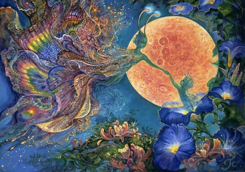 MOONLIT AWAKENING - JOSEPHINE WALL, ARTIST