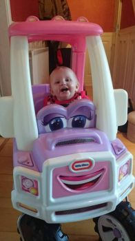 Sienna's first pickup truck
