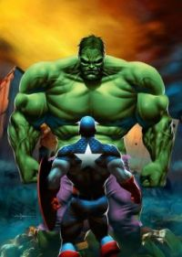 Hulk Vs Captain America