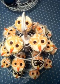 Owl Cupcakes 4 10-26-13