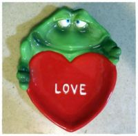 Frog Love Spoon Rest