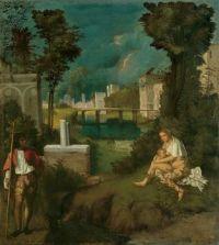 Giorgione - The Tempest (1508)