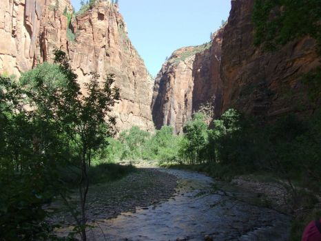Southwest! Zion! Here starts the Narrows