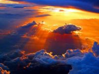 SUN THROUGH CLOUDS - PINTEREST
