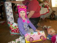 Christmas Morning with Barbie