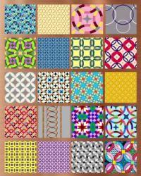 Wedding Ring Patterns Collage Challenge