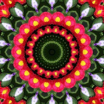 kaleidoscope 323 pink daisies small