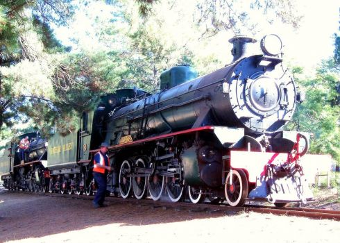 Steam Engine, Dwellingup, WA