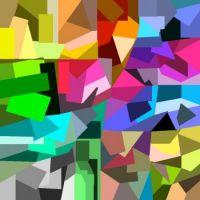 Swirling cubism.