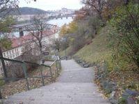 Schody z Vyšehradu