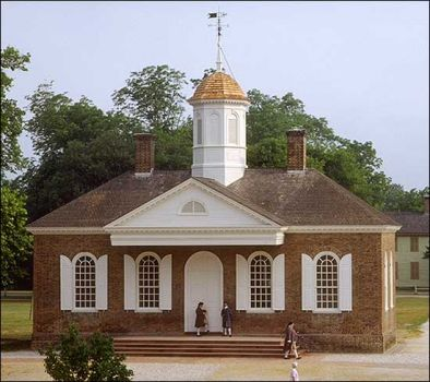 Colonial Courthouse, Williamsburg, VA